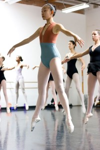 Student in Class during 2014 Summer Intensive Program
