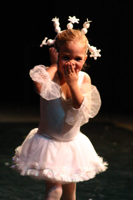 Lil' Snowflake from The Nutcracker