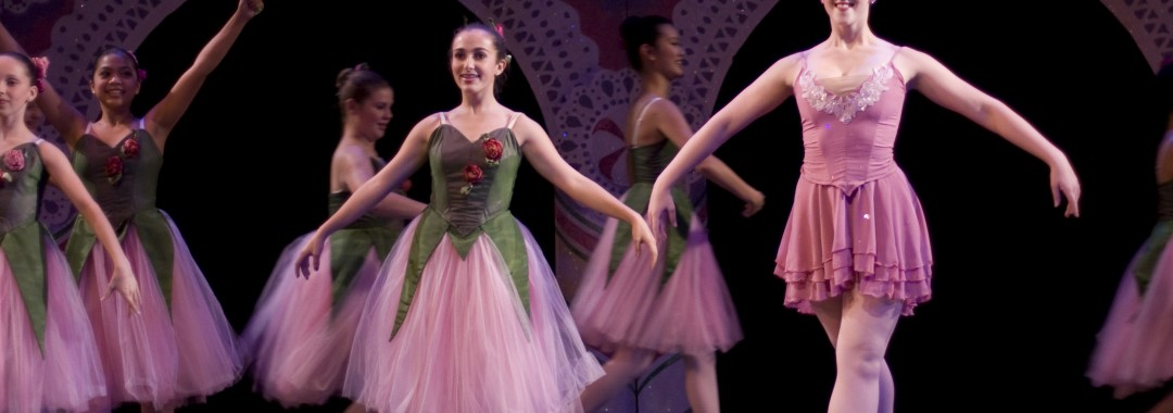 Students & Scripps Ballet Theatre performing in The Nutcracker