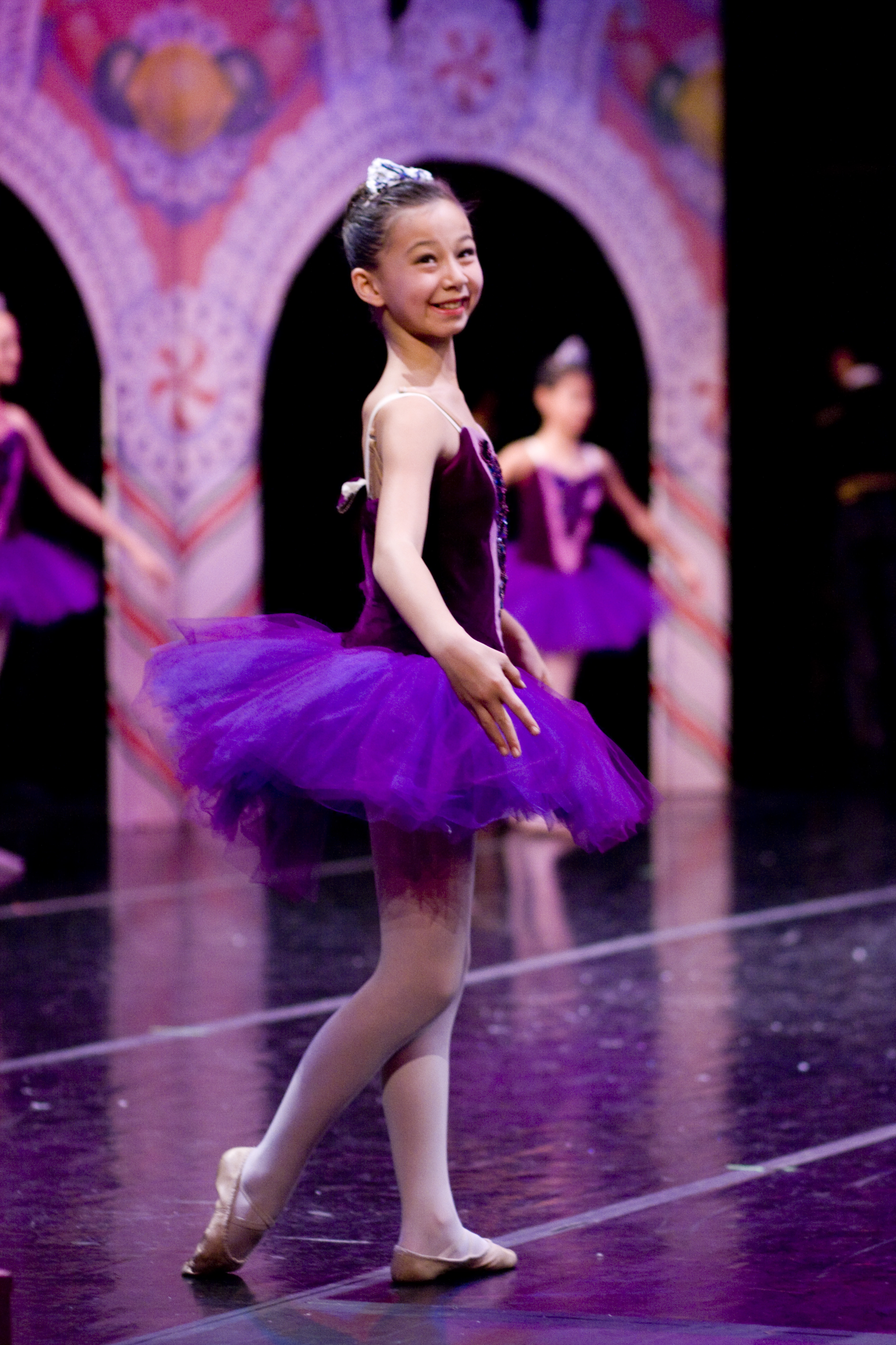 Student performing in The Nutcracker