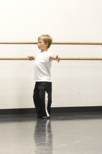 Current Boys Ballet Student